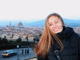 Nat at Piazzale Michelangelo