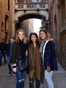 familiar faces at Catedral de Barcelona