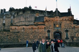Visiting James in Edinburgh